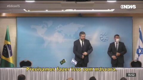 Encontro com Netanyahu adia reunião de Ernesto com produtores de spray nasal