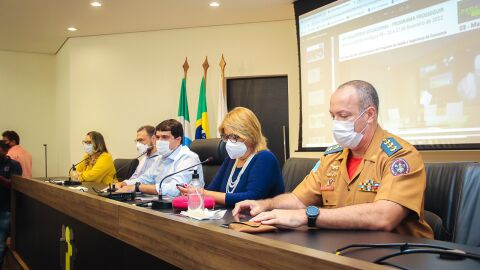 Consultor da SES, do Governo, alerta prefeitos do MS sobre a cepa P.1