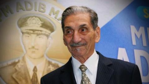 Coronel referência em MS, Adib Massad morre aos 91 anos