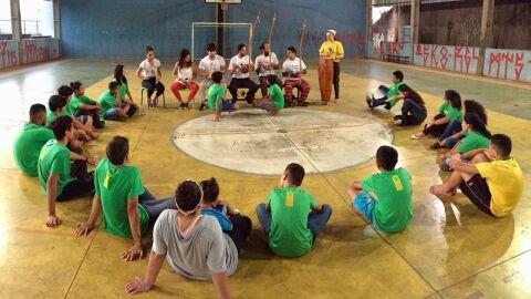 Começa hoje (4.março.21) as oficinas e vivências de Capoeira Angola