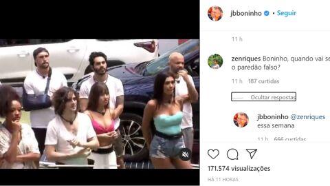 """Boninho confirma que 6º paredão do reality terá uma elminação """"falsa"""""""