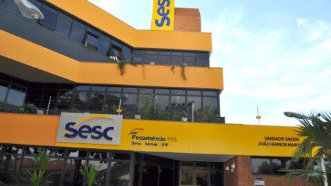 Sesc abre seleção com salários de R$ 2,5 mil e R$ 4,8 mil