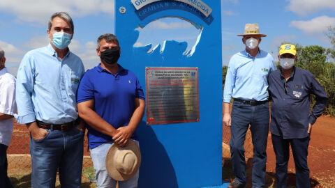 Primeira granja de suínos com ração líquida do Brasil é inaugurada em MS