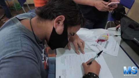 Em 1ª parceria entre prefeitura e Atacadista, 60 pessoas são contratadas em Anhanduí