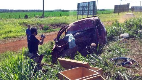 Acidente: Thalison, de 22 anos, morre no hospital em Maracaju, horas após o amigo