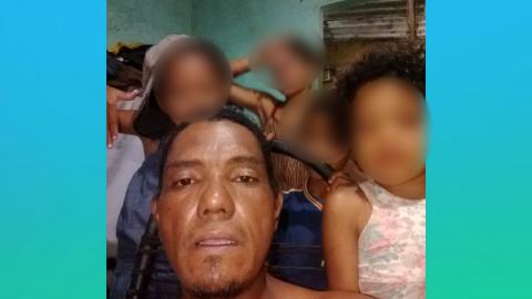 Encontrado morto, sem detalhes, Esdras criava 4 crianças sozinho