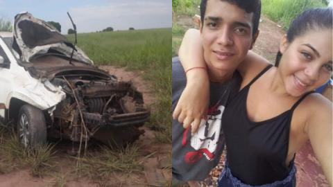 Lucas e Camili morrem ao serem 'atropelados' por picape; ela estava grávida