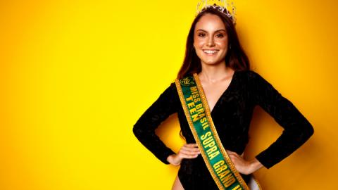 Jovem de Rio Brilhante é escolhida para representar o Brasil em concurso de beleza internacional