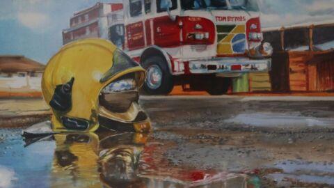 Exposição retrata dia a dia do trabalho dos bombeiros em Brasília