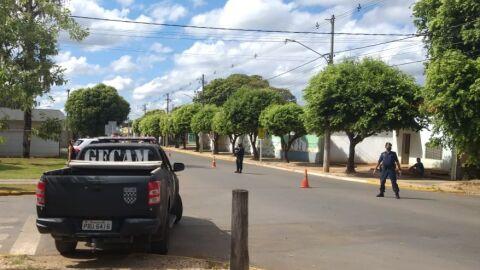 Polícia Militar e Guarda Municipal realizam blitz de trânsito em conjunto com a finalidade de fiscal