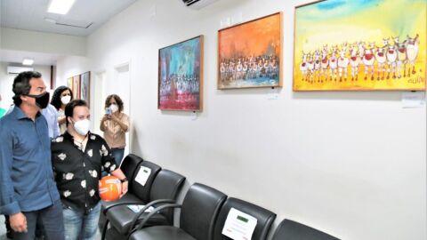 """Exposição que reinaugura """"Arte no Paço"""" expõe talento de pai e filho"""