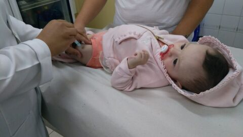 Prefeitura inicia vacinação da Gripe atendendo crianças de 6 meses e menores de 6 anos
