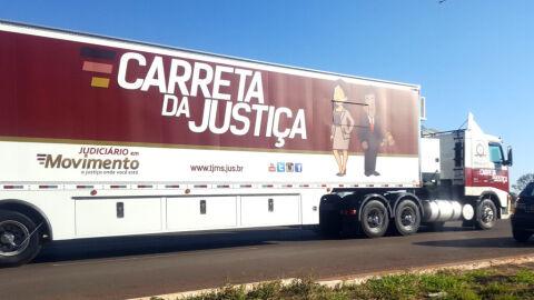 Carreta da Justiça adia visita aos municípios de Tacuru e Paranhos