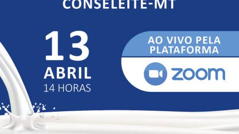Conseleite-MT será lançado no dia 13 de abril de 2021