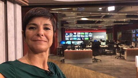 Jornalista da Globo pode ter contraído nova cepa da Covid-19