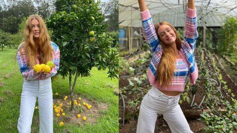 Marina Ruy Barbosa estaria passando temporada em fazenda de deputado federal