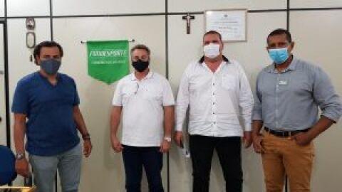 Fundesporte recebe gestores públicos de Iguatemi e orienta sobre projetos esportivos