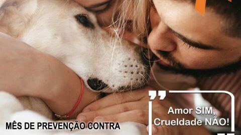 Prefeitura lança campanha 'Amor sim, Crueldade Não' em alusão ao Abril Laranja