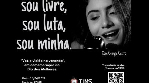 Fórum da Capital promove live musical online em homenagem às mulheres