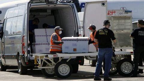 Mais de 77 mil doses de vacina chegam a Mato Grosso do Sul