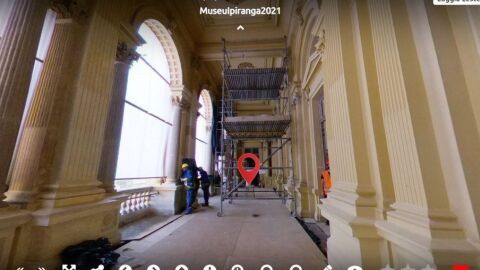 Museu do Ipiranga libera tour virtual