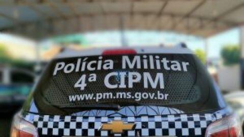 Polícia Militar apreendeu em flagrante jovem que roubou conveniência em Chapadão do Sul