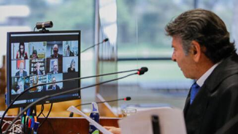 Há um ano, o STF realizava a primeira sessão plenária por videoconferência