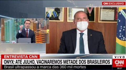Jornalista da CNN Brasil confronta ministro de Bolsonaro ao vivo; assista