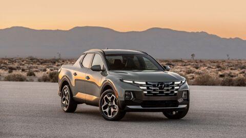 Picape inédita Hyundai Santa Cruz é revelada oficialmente