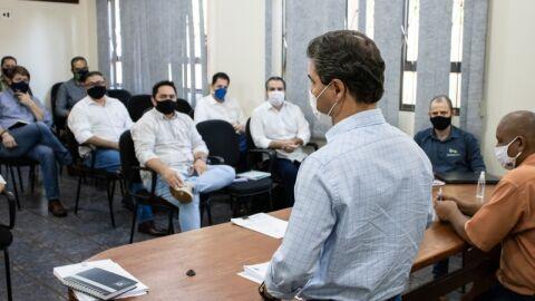 Prefeito se reúne com secretário e discute Planejamento Estratégico