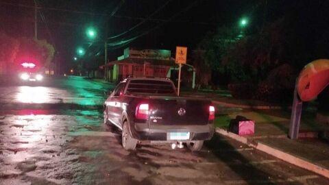 Polícia Militar conduz homem à delegacia por cometer direção perigosa em Paranaíba