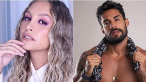 """Carla Diaz e Bil Araújo flertam nas redes sociais: """"Pronto para pegar"""""""