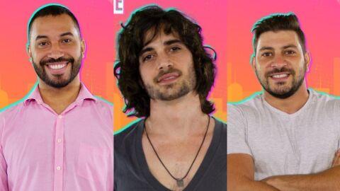 'BBB 21': Fiuk, Gilberto e Caio se enfrentam no paredão da semana