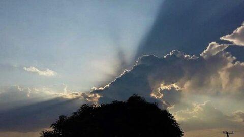 Sol entre nuvens, temperaturas em elevação e chuvas isoladas