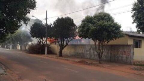 Polícia Civil apreende adolescente suspeito de furto e incêncio a colégio de Baytaporã