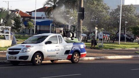 Fumacê chega ao Centro e mais 04 bairros de Três Lagoas nesta segunda-feira (19)