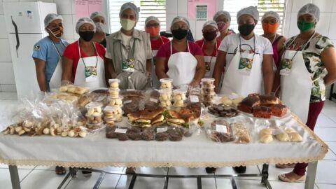 Comunidade Quilombola de Cajazeiras recebe curso de Panificação do SENAR/RN