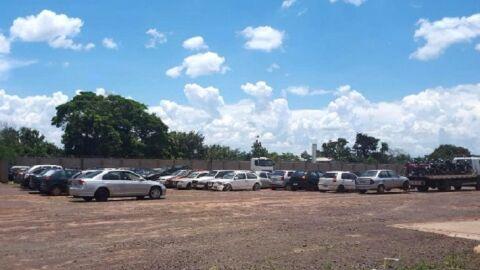 Leilão do Detran/MS com 260 veículos sucatas aproveitáveis abre nesta terça-feira