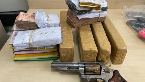 PF combate organização criminosa envolvida com tráfico de drogas