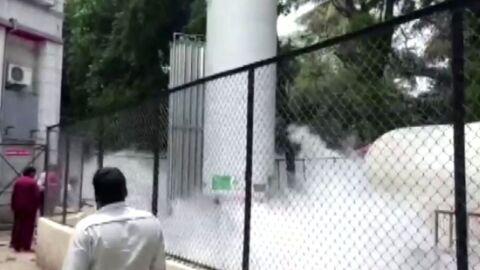 Vazamento de oxigênio na Índia causa morte de 22 pacientes internados