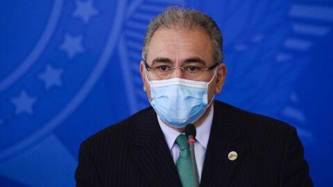 Ministro da Saúde atualiza informações sobre pandemia de covid-19