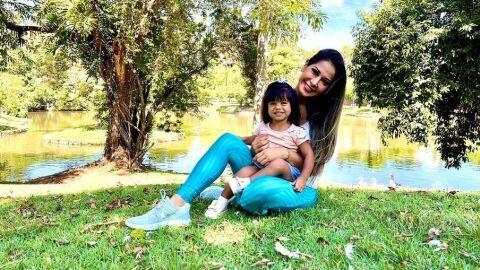 Mayra Cardi conta que construiu um parque de diversão para filha