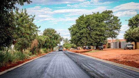 Obras de Infraestrutura do Jardim Carandá em ritmo acelerado