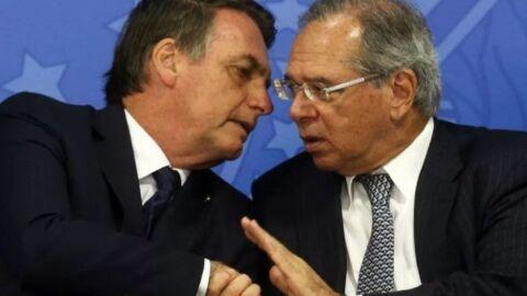 """""""Paulo Guedes é duro na queda"""", diz Bolsonaro sobre liberação de verbas"""