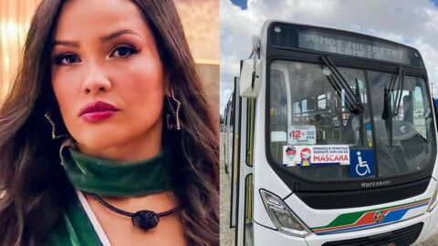 'BBB 21': Juliette é homenageada por ônibus de João Pessoa
