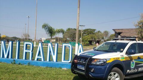 Em Miranda, Polícia Militar prende motociclista embriagado