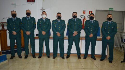 Comandante do 5º Batalhão de Polícia Militar recepciona novos sargentos em Coxim