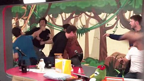 Vídeo: entrevistado e integrante trocam socos ao vivo na Jovem Pan
