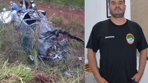 Resgatado em estado grave após acidente, delegado Mikail morre no hospital