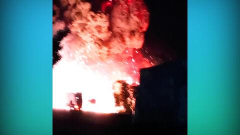 Vídeo: carreta explode quando Bombeiros tentavam conter fogo na MS-158